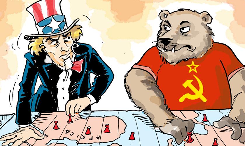 Resultado de imagen de la guerra fría